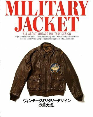 All about Vintage Military Jacket Book Archives Design Collection VTG Flight Dec
