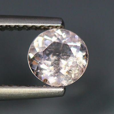 0.68 Cts_Simmering Ultra Nice Color_100 % Natural Peach Pink Morganite_Brazil