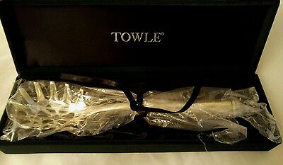 TOWLE SILVER COMPANY SILVER PLATE PASTA SERVER With Velvet box 10-3/4""