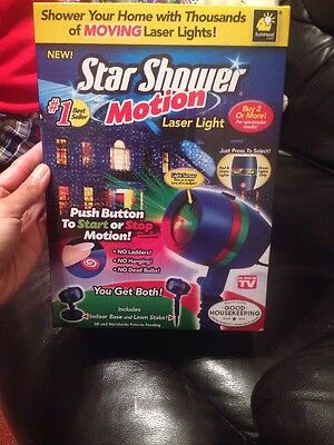 Star Shower Motion Laser Christmas Light Projector As Seen On TV | StarShower