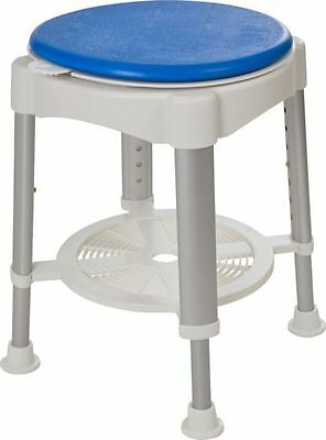 Drive Medical Shower Stool with Rotating Padded Seat 865/0995