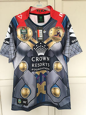 Melbourne Storm 2017 NRL Thor Marvel Jersey Adults RUGBY LEAGUE SHIRT XXL 2XL