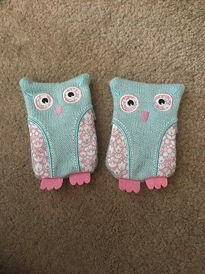 2 Brand New Owl Hand Warmer Covers