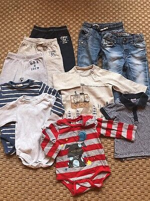 Baby Boy Clothes Bundle 3-6 Months Next H&M Blanc De Blanc 10 Items