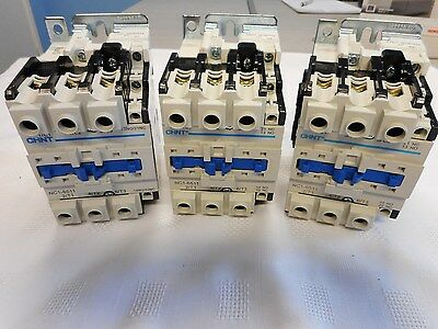 Chint Ac Contactor Coil 30Kw 4 Pole 3 Main & 1 Normally Open Pole Aux Starter