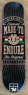 Element Rise Up Made to Endure Deck Skateboard 7,75