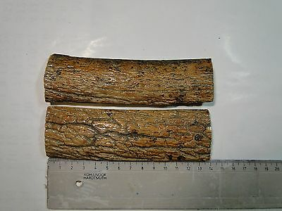 Bark of the fossil mammoths tusk (40000-10000 y.o) for Knife SCALES