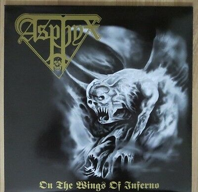 Asphyx - On The Wings Of Inferno - First Press - Limited Edition Auf 500 Stück