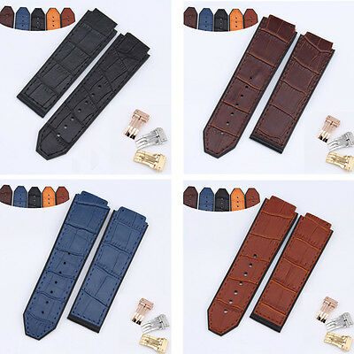 bc703441bb0 New Design Rubber Replacement Watch Band Strap For Hublot Big Bang 25x19mm