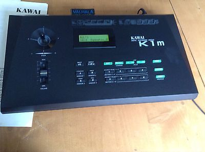 KAWAI K1 M SYNTHESISER   With Soundcard ,Manuals And Power Supply