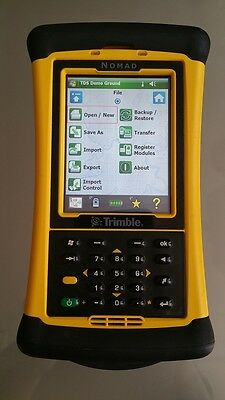 Trimble Nomad Data Collector, Survce, Tds Survey Pro, Gnss