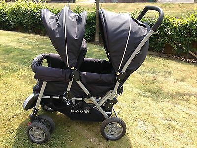 Double Buggy Pushchair Safety 1st