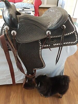 Simco Western Show Saddle
