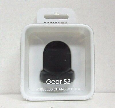 NOB Samsung EP-OR720BBEGUJ Wireless Charging Dock for Samsung Gear S2 - Black