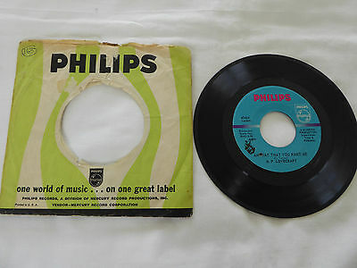 """H.P.Lovecraft - Any Way That You Want Me/It's All Over..US 7"""" single Philips Ex"""
