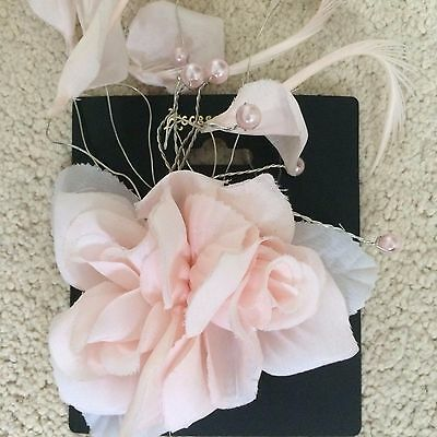 Wedding/Races Hair Clip Pink Accessory NEW Accessorize
