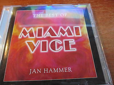 The Best of Miami Vice Soundtrack, Import Jan Hammer    - Cd