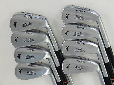 VINTAGE Burke Recorded 501 Punchiron 2 - 9 Golf Club Iron Set 1930's