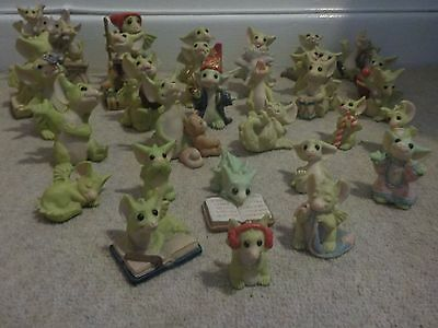 WHIMSICAL WORLD of Pocket Dragons REAL 31 DRAGONS SEE DESCRIPTION UNBOXED