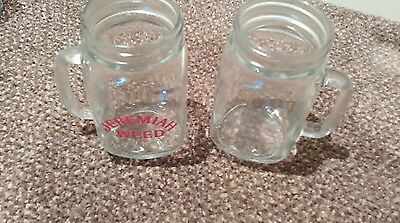 2 1/2pint Tankard Jeermiha weed glasses new