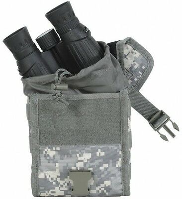 Protective Binocular Case Pouch Adjustable Flap Design Attachable to Belt / Vest