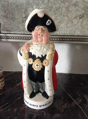 Beswick Character Toby Jug Worthingtons Pale Ale Lord Mayor Advertising Ware