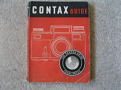 Focal Press Camera Guide To The Contax Vintage Camera