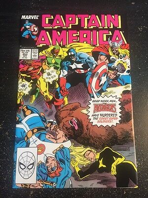 Captain America#352 Incredible Condition 9.4(1989) Soviet Super Soldiers, Dwyer