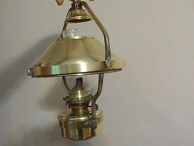 Brass Oil Lamp for Boats