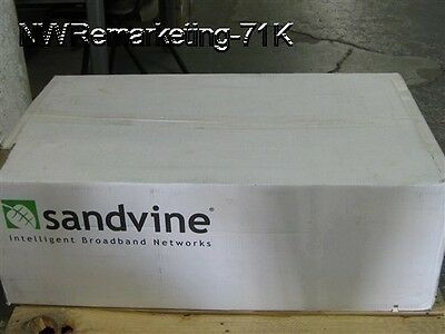 NEW Sealed Sandvine PTS14521-A Policy Traffic Switch 1yr PTS14000 Warranty 10GBE