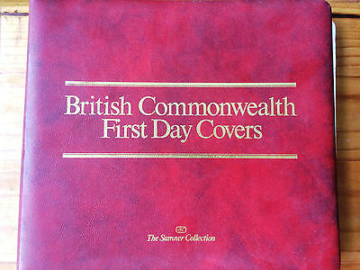 """The Sumner Collection"" British Commonwealth First Day Cover in Album Lot #1"