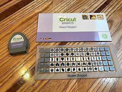 Flower Shoppe ~ Cricut Cartridge ~ Lightly Used ~ No Box ~ Linking Unknown