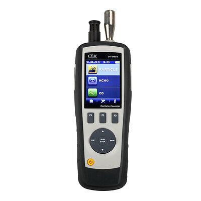DT-9881 4 in 1 Particle Counter + TFT LCD Display & Camera Function HCHO CO Test