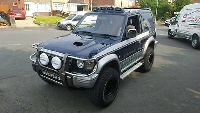 Mitsubishi Pajero SWB 2.8 turbo diesel, New Mot, Manual, Lifted