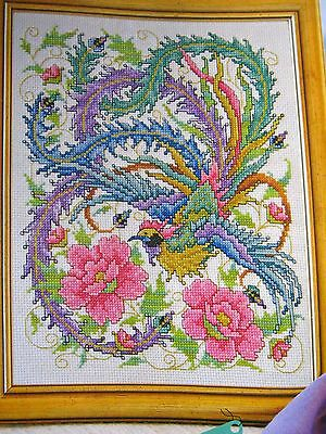 Cross Stitch Chart FROM THE ASHES - JOAN ELLIOTT - CHINESE PHOENIX - Chart only