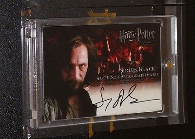 Harry Potter Azkaban POA Autograph Card Gary Oldman as Sirius Black Auto