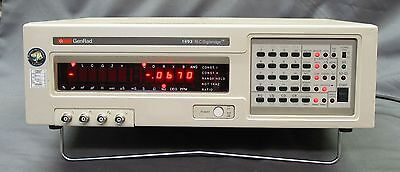 GenRad 1693 Precision LCR Meter w/ GPIB, current cal and tested good (IET Labs)