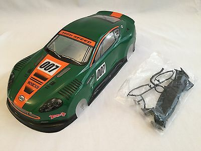 Aston Martin Db7 Rc Bodyshell 1/10 Painted 200mm Drift Hpi Road Race Hsp Kyosho