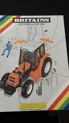 Britains toy catalogue 1985