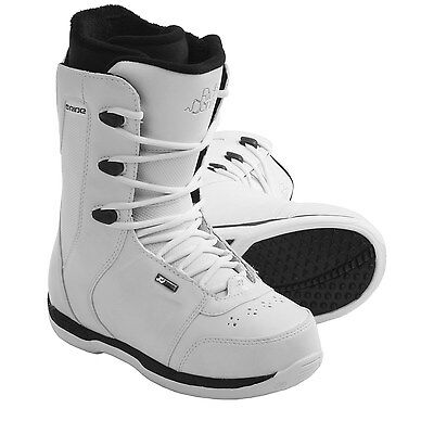 Ride Snowboards Donna White Snowboard Boots (for Women) - Size 10