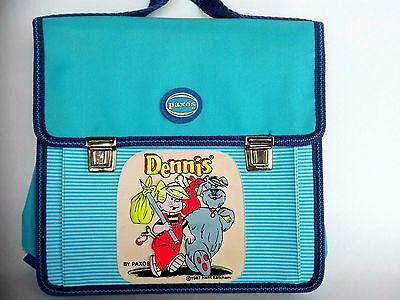 Vintage 1987 Dennis The Menace School Bag Paxos Greek With Tags