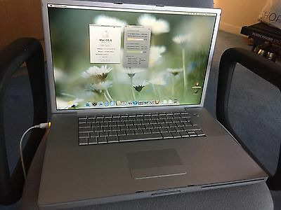 "Apple PowerBook G4 A1139 17.3"" (late 2005)-PowerPC 1.67GHz, 2Gb RAM, 160Gb HDD"