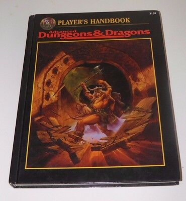 Advanced Dungeons and Dragons 2nd Edition Player's Handbook TSR
