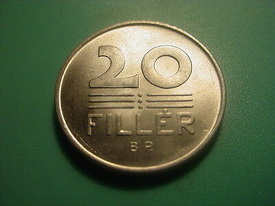 Hungary 1958 20-Filler In Very Nice Uncirculated Condition