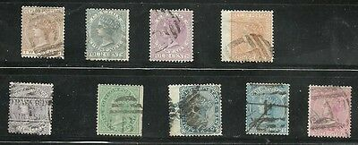 Ceylon Qv 1872 Good Used Selection To 48 Cents