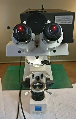 Zeiss Axioskop FS Microscope Electrophysiology Focusable Objective Fixed Stage