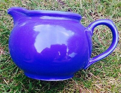 Arthur Wood Blue Milk Cream Sauce Jug Vgc