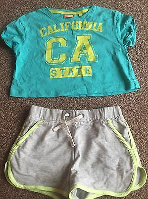 Girls Shorts set Age 8 From Next