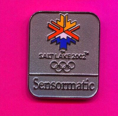 2002 Olympic Sensormatic Pin Official Sponsor Pin