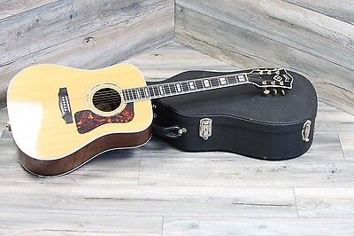2007 Guild D-55 Dread Acoustic Guitar in Natural! All Original great Shape